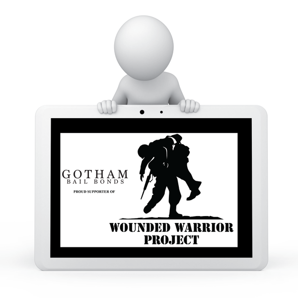 GOTHAM BAIL BONDS WOUNDED WARRIOR PROJECT