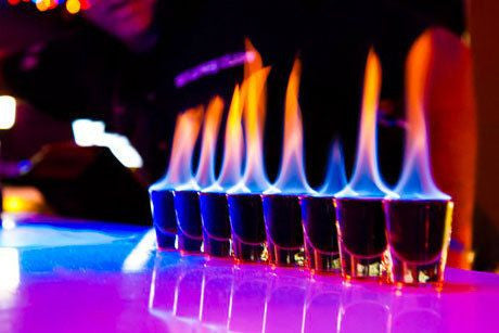 Why does alcohol burn?