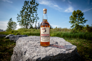 Twelve Barrels -- Made with Canadian Wheat and Rye Whisky