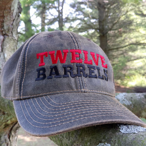 Oil Cloth BallCap - Twelve Barrels