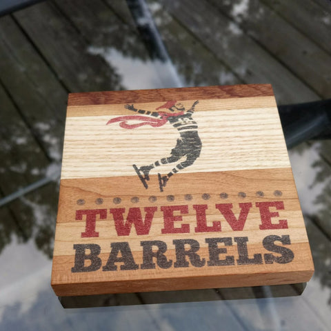 Wood Coaster - Twelve Barrels