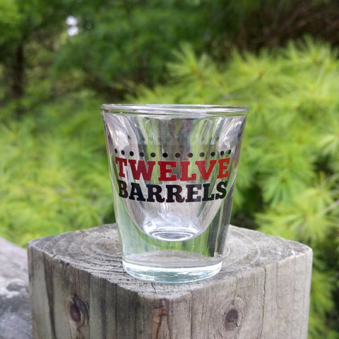 Shot glass - Twelve Barrels