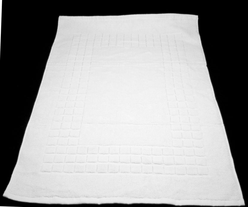 white bath mat for shower 100% cotton