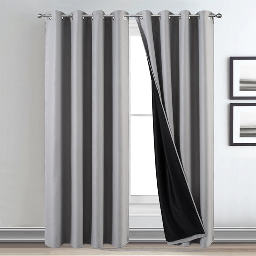 100% Blackout Curtains