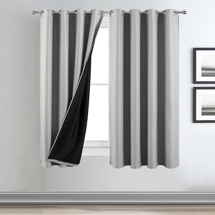dunelm blackout curtains