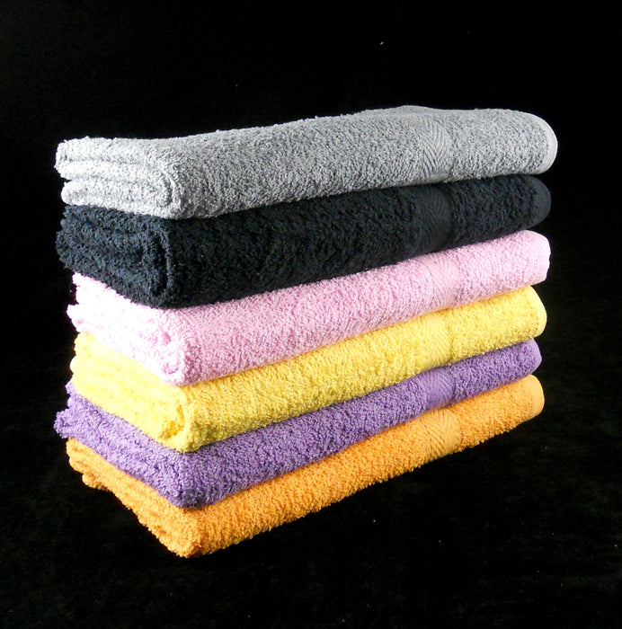 extra large bath towels grey black orange yellow