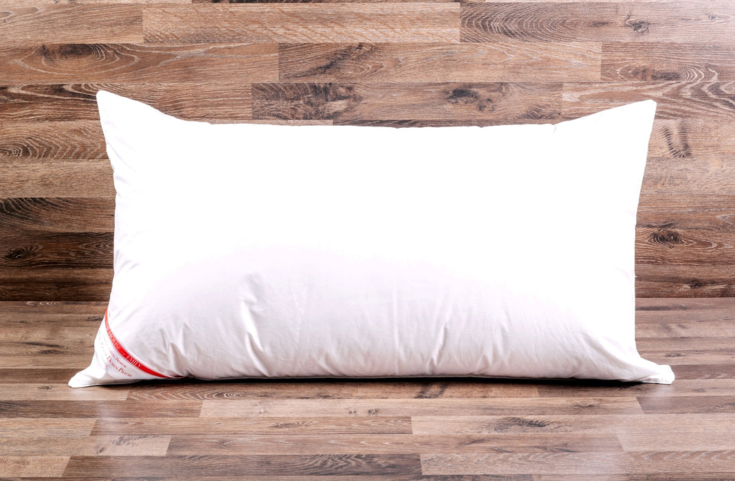 Super King Pillows Set of 2. Microfibre, Goose Feather and 100% Goose Down