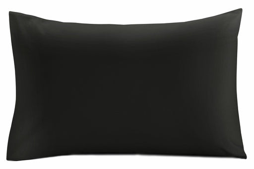 black pillow case pair