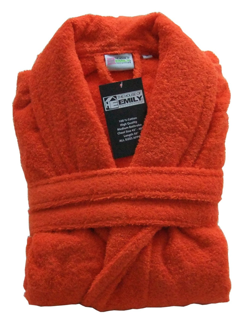 100% Cotton Terry Towelling Bathrobe with Belt — www.thehouseofemily.com 6605919ad