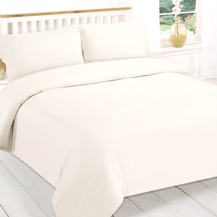 100% Cotton Duvet Cover Sets 200 Thread Count  | 5 Bed Sizes