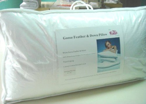 "Super King Kingsize Pillows 20"" x 36"" - 50cm x 90cm"