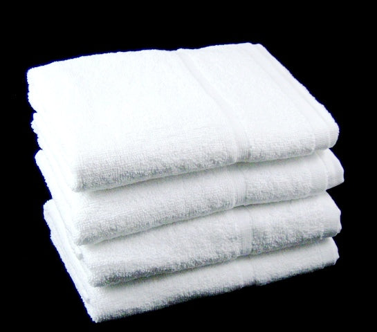 wholesale hand towels white