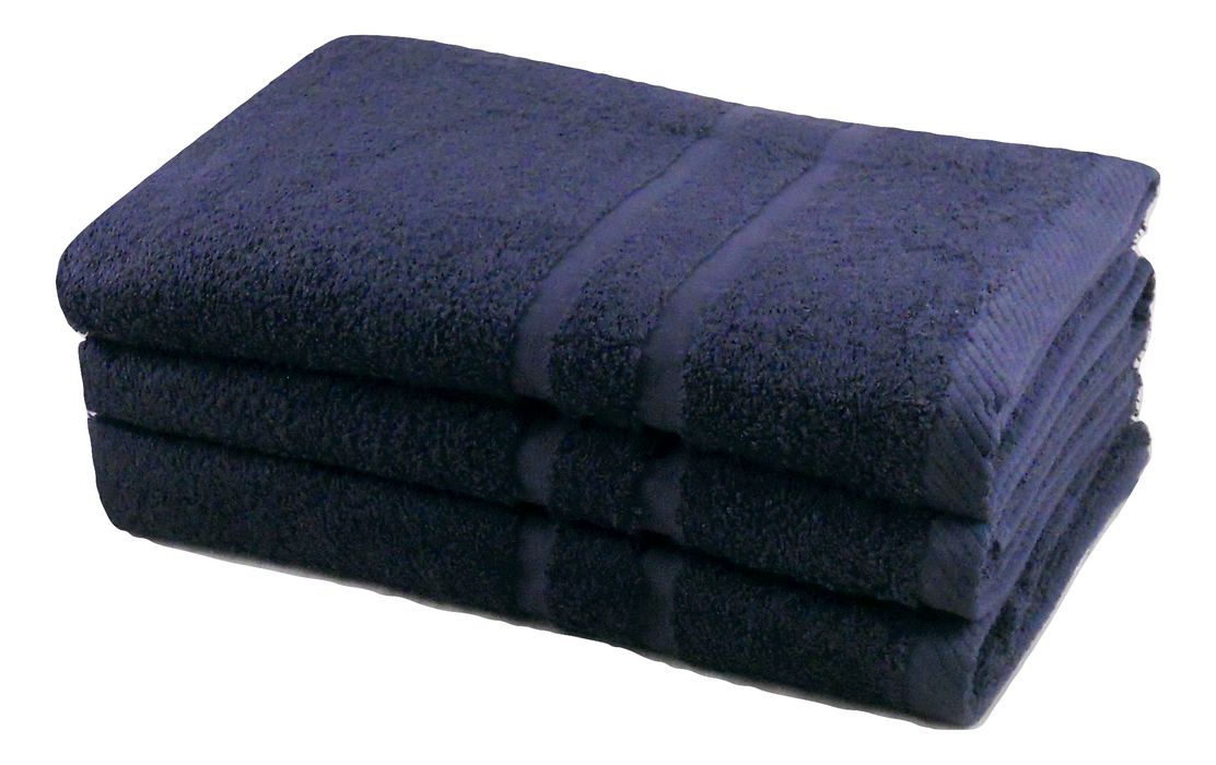 4pc Towel Bale 100% Cotton 450gsm 2 Hand Towels and 2 Bath Towels