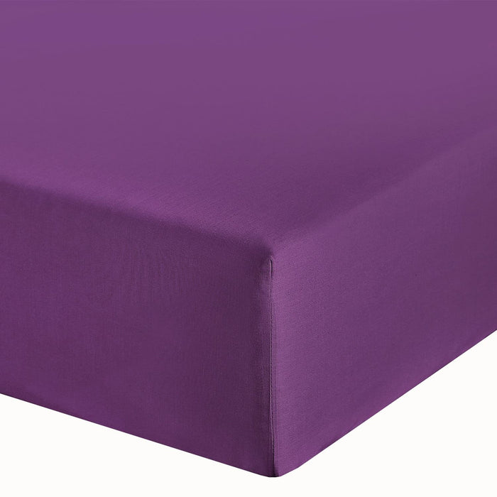 purple fitted sheets