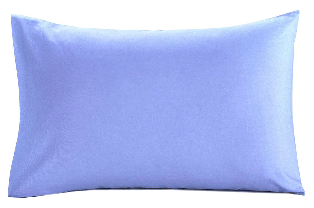 Plain Dyed Pillowcases - Standard and Super King Size - Choice of 10 Colours