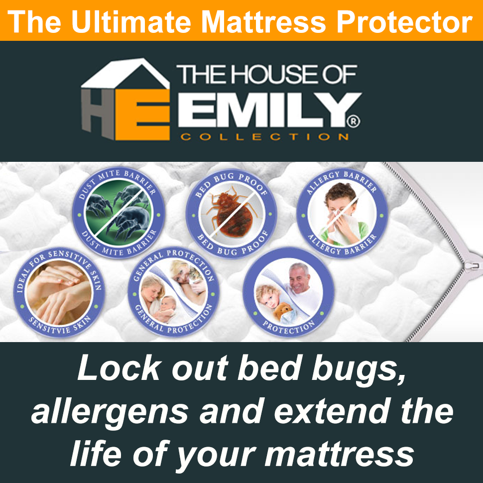 Fully Enclosed Encased Waterproof Mattress Protector Cover