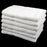 Cheap White Hand Towels Budget Quality 320 gsm - Pack of 12