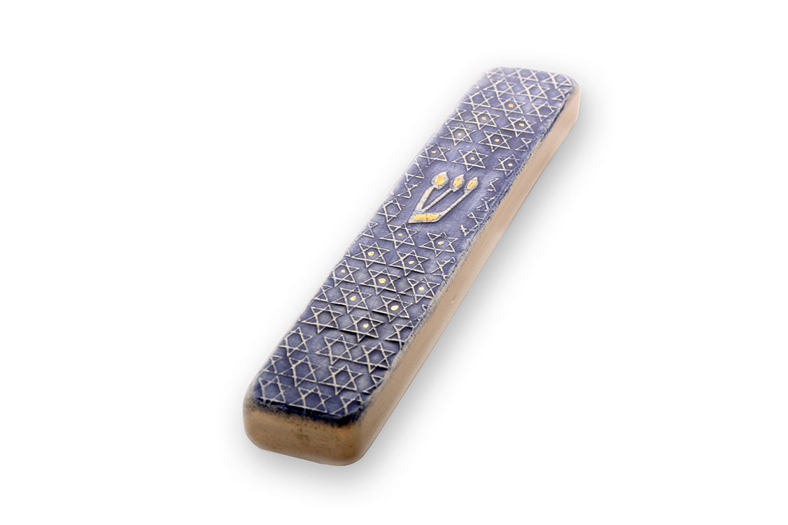 Magen David Handmade Mezuzah Cases