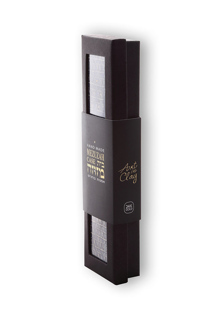 magen david mezuzah case