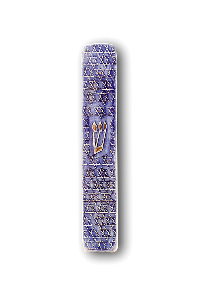 Handmade Mezuzah Cases Magen david Model