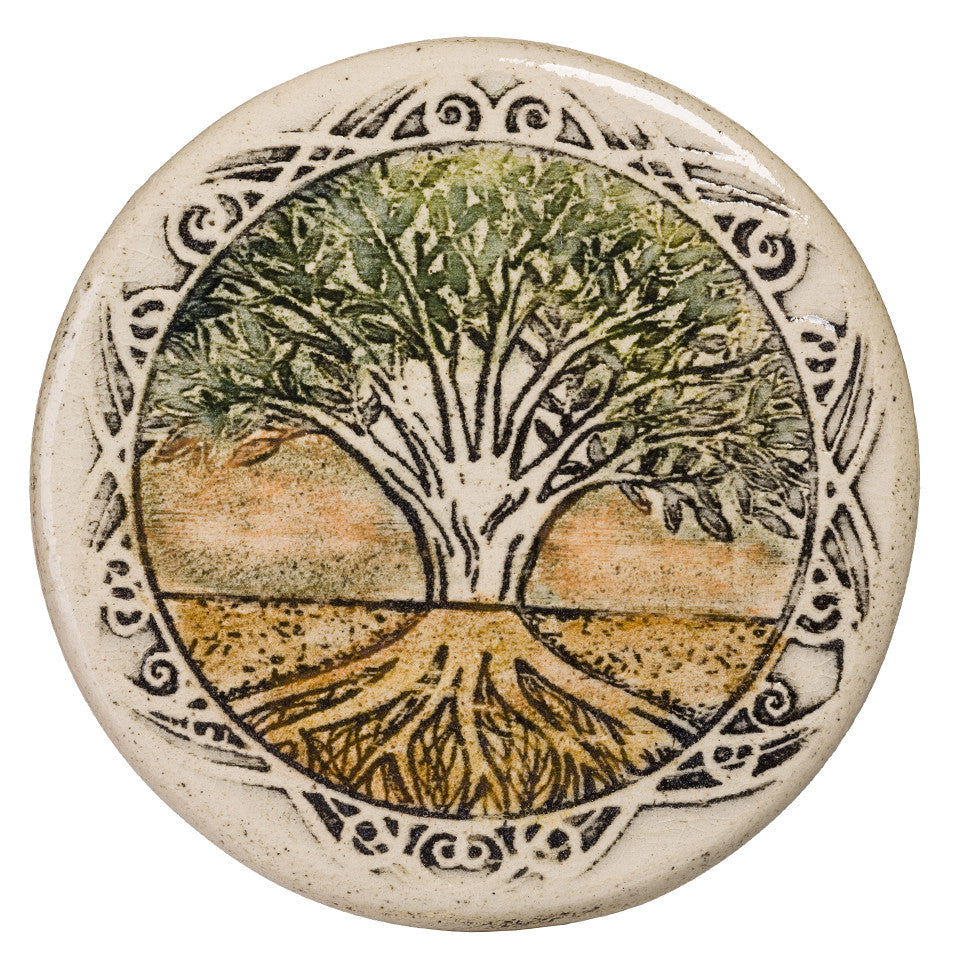Tree Of life Tile Hand Made Special Gift