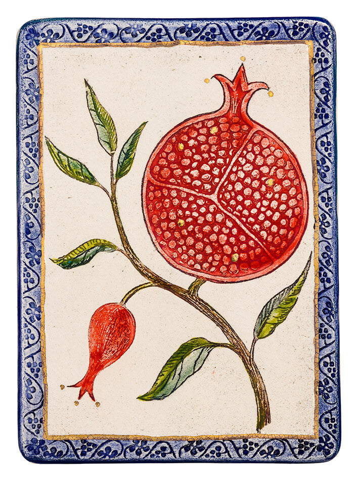 Pomegranate Plaque