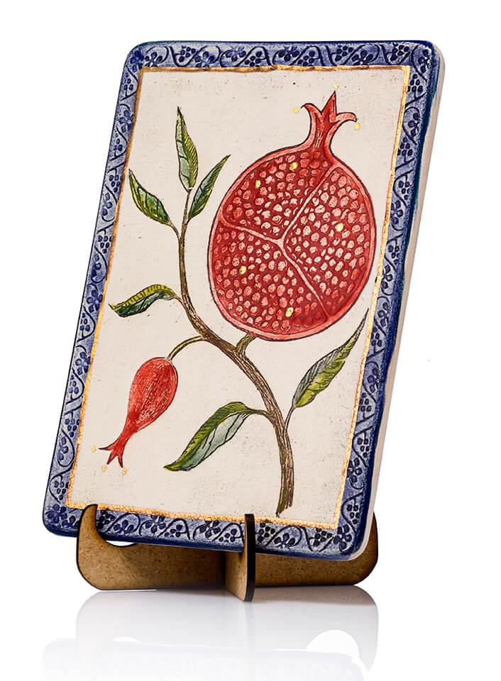 Pomegranate Blessing Plaque