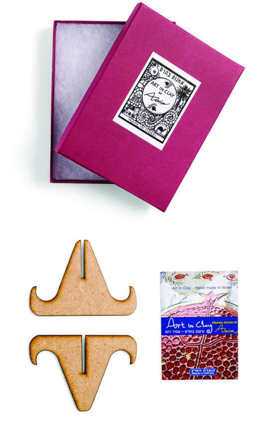 amir rom plaque box