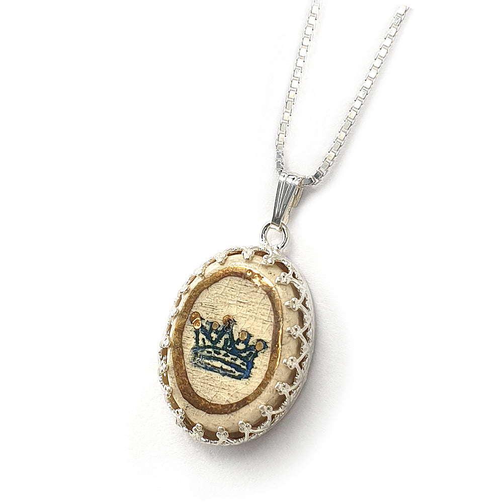 Handmade King David's Crown Pendant