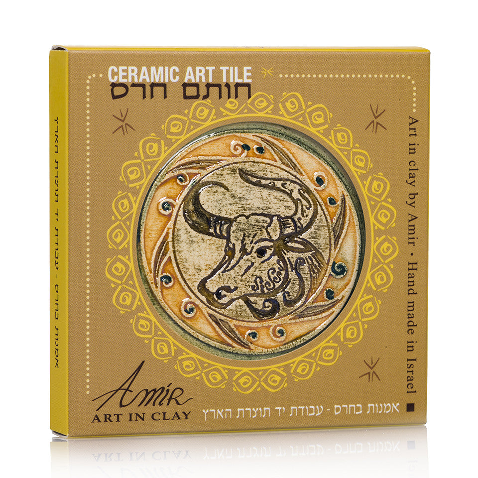 Taurus is One Of The 12 constellations of the zodiac Handmade Tile