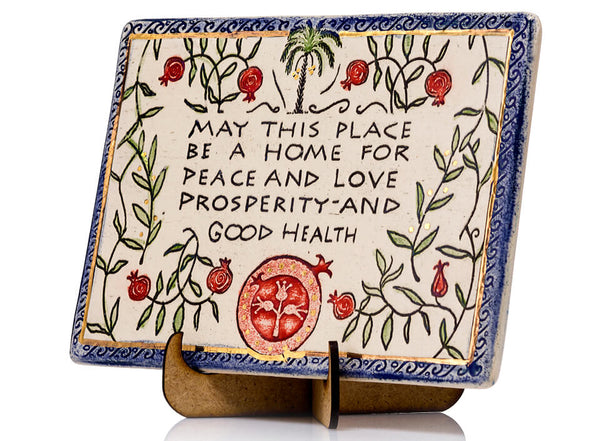 Place Blessing Handmade Plaque
