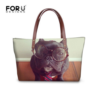 french bulldog women handbags