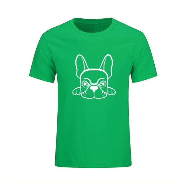French Bulldog Design Men's T Shirt