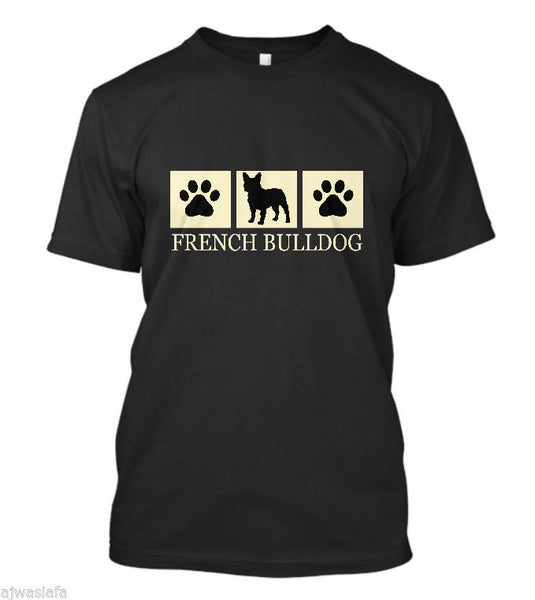 French Bulldog Silhouette T Shirt Dog Lover Tee