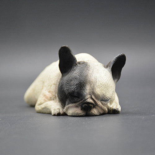 Super Cute Sleeping French Bulldog Figurine