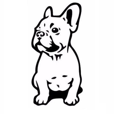 FRENCH BULLDOG Vinyl Decal Car Sticker