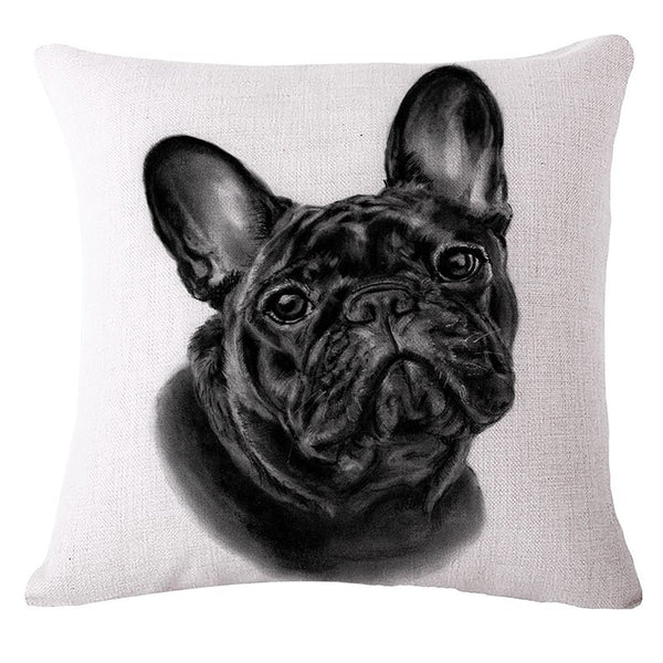 French Bulldog Cushion Covers Throw Pillow Covers