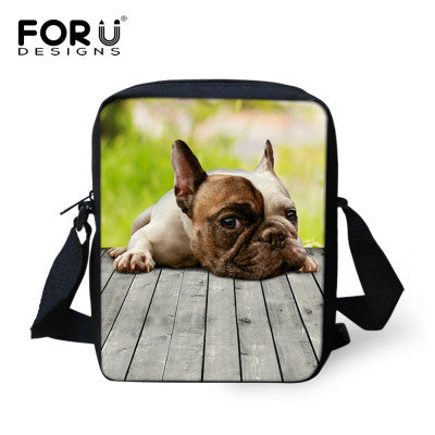 French Bulldog Small Messenger Bag