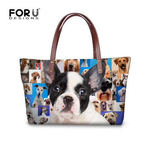 Adorable French Bulldog Handbag Tote