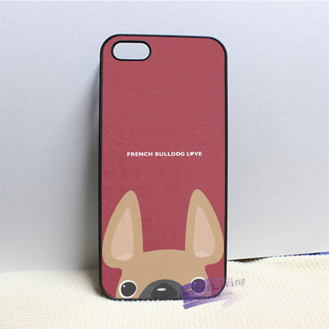 french bulldog 1 cell phone case cover for iphone 4 4s 5 5s 5c 6 6s & 6 plus & 6s plus
