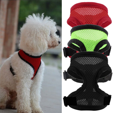 Nylon Mesh dog Harness For Small Medium-sized Dog l