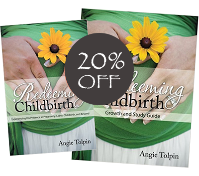 Redeeming Childbirth Book & Guide Bundle-20% OFF