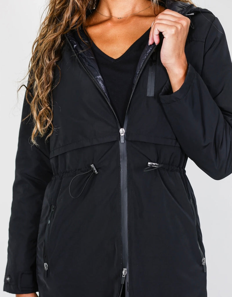 Anorak Toggle-blk