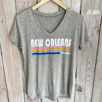 New Orleans Stripes Tee
