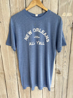 NO vs. All Tee-Lt Blue
