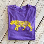 Geaux Tigers Tee-Pur