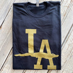 LA Gator Tee Black/Gold