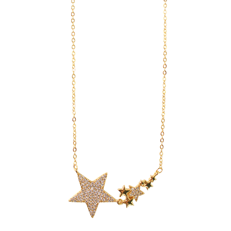 Gemelli Star Necklace