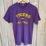 Tigers Vs. Tee-Purple