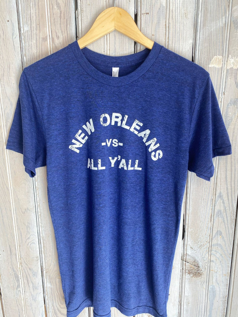 NO vs. All Tee-Indigo